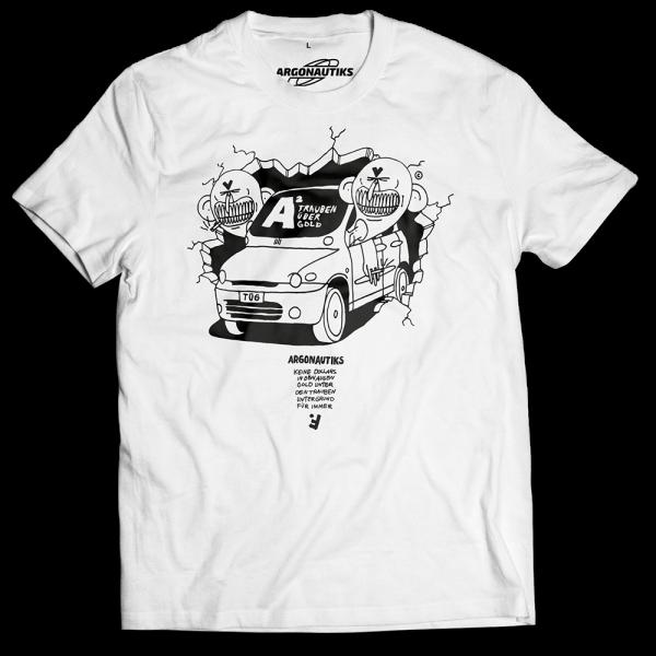 Argonautiks - T-Shirt - Trauben über Gold 2020 [weiß]