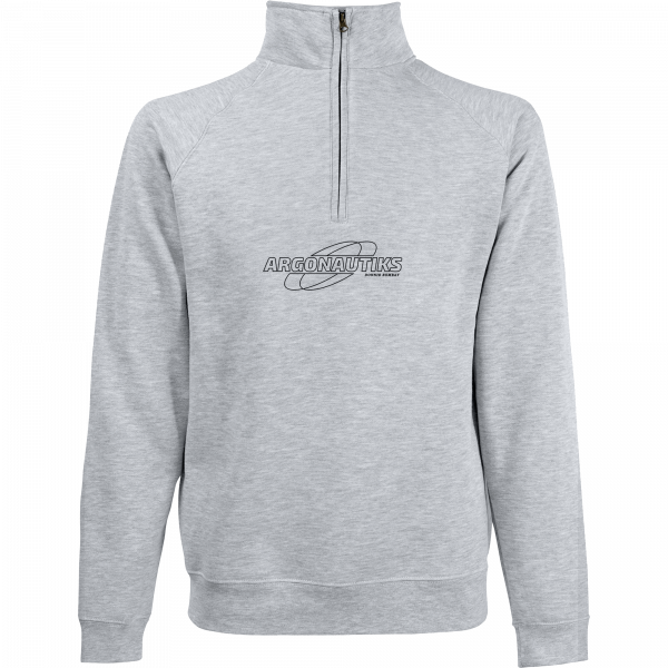 Argonautiks - Half-Zip Sweater - Logo [grau]