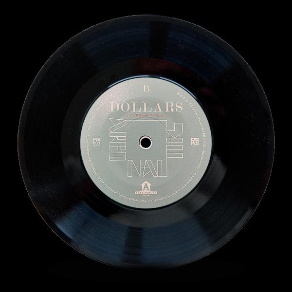 """Argonautiks - Dollars 7"""" / Single"""