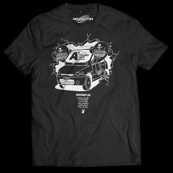 Argonautiks - T-Shirt - Trauben über Gold 2020 [schwarz]